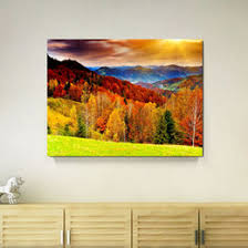 Home Decor Dropship Canada Landscape Painting Mountains Supply Landscape Painting