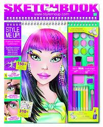 makeup artist sketchbook style me up makeup artist sketchbook 11street malaysia