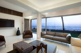 Wall Mount Tv In Apartment Apartment By The Beach In Mumbai By Zz Architects Keribrownhomes