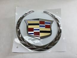 logo cadillac buy a new genuine gm 2007 2014 cadillac escalade grille emblem