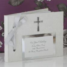 christening photo album christening photo albums the gift experience