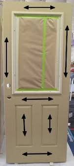 Stain For Fiberglass Exterior Doors Staining A Fiberglass Door The Practical House Painting Guide