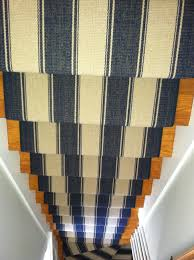 stair runner installed in cape cod http carpetworkroom com