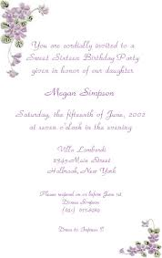 sweet 16 invitation wording 28 images sweet sixteen shimmery