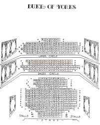 duke of york theater interior sketch