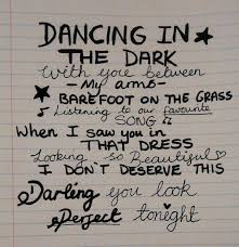 ed sheeran perfect text the lyrics to perfect by ed sheeran really are perfect