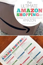 amazon black friday deals calendar the ultimate amazon shopping list 50 things you should always