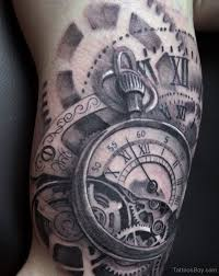 clock ideas for clock tattoos designs