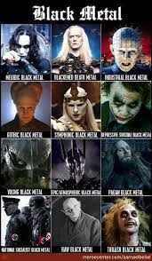 Black Metal Meme - the many types of black metal by samaelbelial meme center