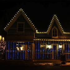 Outdoor Christmas Decorations Safety by Led Light
