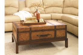 trunk style end tables appealing on table ideas with nailhead