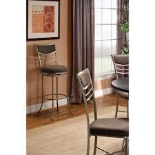 boraam augusta 24 in cappuccino swivel cushioned bar stool 48824