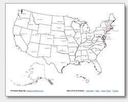 blank united states map with states and capitals printable united states maps outline and capitals