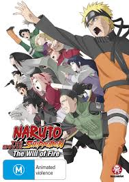 download film naruto anime naruto shippuden movie 3 the will of fire dvd madman entertainment
