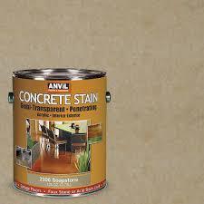 anvil 1 gal soapstone semi transparent translucent concrete stain