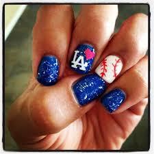 best 20 dodger nails ideas on pinterest baseball boyfriend