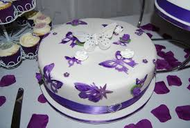 butterfly cake toppers purple butterfly wedding cake purple wedding ideas