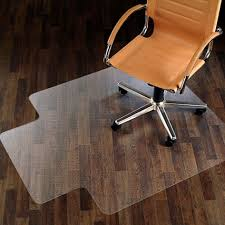 Chair Mat For Laminate Floor Enchanting Rectangle White Polycarbonate Desk Chair Floor Mats