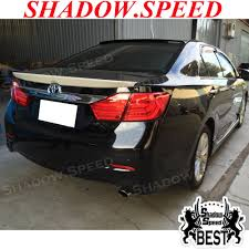 toyota camry trunk 2012 15 painted oe rear trunk spoiler wing for asia toyota camry