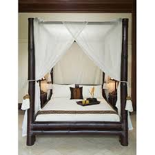 bamboo beds for bedroom furnitures nusa dua four poster bed