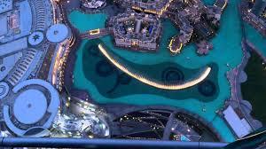 dubai mall fountain full show hd from burj khalifa balcony youtube