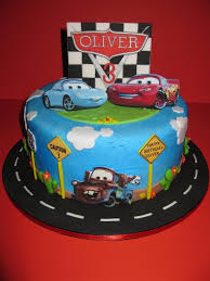 cars birthday cake pixar car s birthday cake
