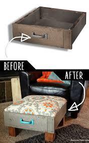 39 clever diy furniture hacks diy furniture foot rest and