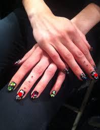nail trends for 2014 playful nail art black and brights vol 5