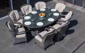 Clearance Patio Dining Set Outdoor 7 Pc Outdoor Dining Set 8 Garden Set 9 Patio