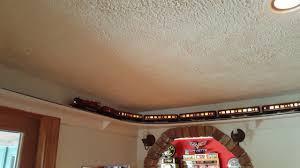 Ceiling Shelf Lionel Trains Layout Youtube