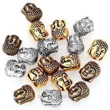 metal beads bracelet images 20pcs metal silver buddha beads for bracelet jewelry gd traders jpg