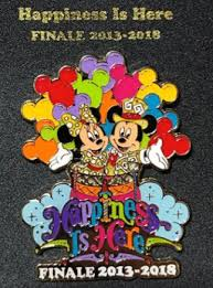 parade pins happiness is here finale pin disney pins