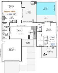 1 floor house plans modern luxury house plan ingeflinte