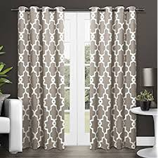 Amazon Com Shower Curtains - amazon com exclusive home curtains baroque textured linen look