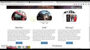 membuat website bootstrap tutorial membuat web resto sederhana dengan bootstrap 3 youtube