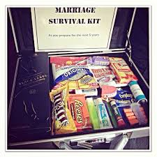 wedding gift kits marriage survival kit gave this to my husband as a gift for