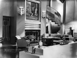 monochrome interior design define and identify art deco style