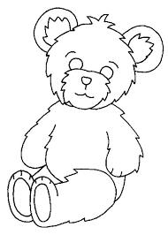 fluffy teddy bear coloring color luna