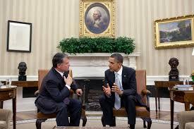 President Obama In The Oval Office President Obama U0026 King Abdullah Ii Of Jordan Discuss Libya Israel