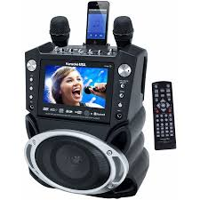 karaoke dvd cd g mp3 g bluetooth karaoke system with 7 tft color
