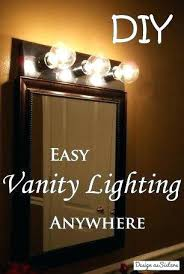 bathroom vanity light with outlet bathroom vanity light fixture
