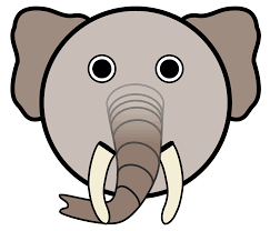 clipart elephant with big head bbcpersian7 collections