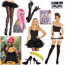 Maid Costumes Halloween Ladies Rap 4 Diy Nicki Minaj Iggy Azalea Costume Ideas