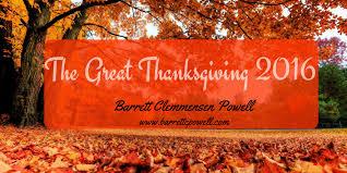 gratitude coaching the great thanksgiving 2016 barrett
