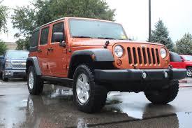 Used Jeep Wrangler Unlimited 2011 Used Jeep Wrangler Unlimited 4wd 4dr Sport At Penske Honda