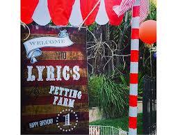 Backyard Party Lyrics Inside Soleil Moon Frye U0027s Circus Birthday Party For Son Lyric