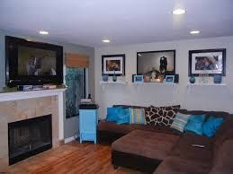 Living Room Ideas With Brown Couch Great Brown Living Room With Varying Shades Of Chocolate Living