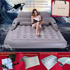 inflatable bed folded disassembly combination air cushion bed