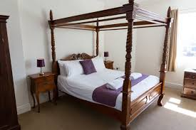 double room with four poster bed u2013 resolution whitby