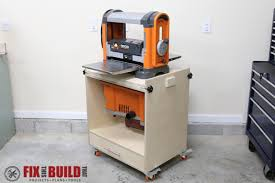 Bench Top Drum Sander How To Build A Flip Top Tool Stand Fixthisbuildthat